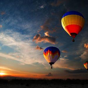 serengeti ballonvlucht