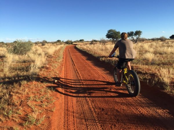 mountainbiken Kalahari Anib Lodge