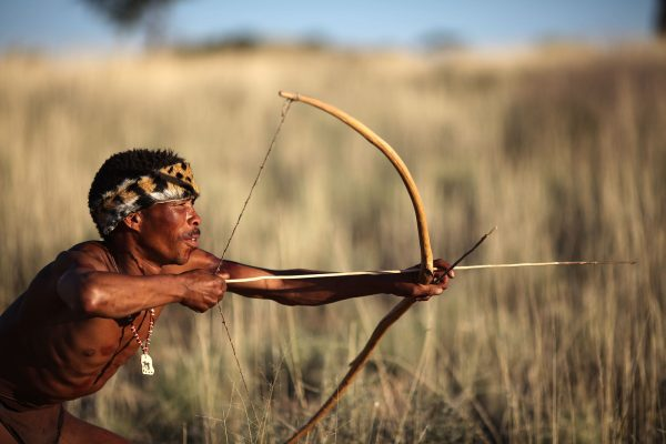 bosjesmannen namibie