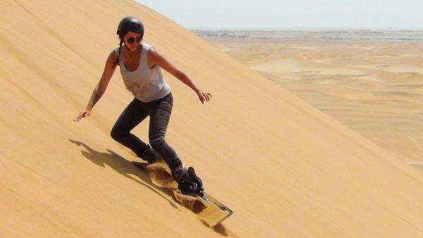 sandboarden swakopmund namibie