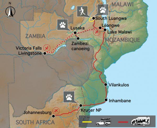 zambia malawi mozambique