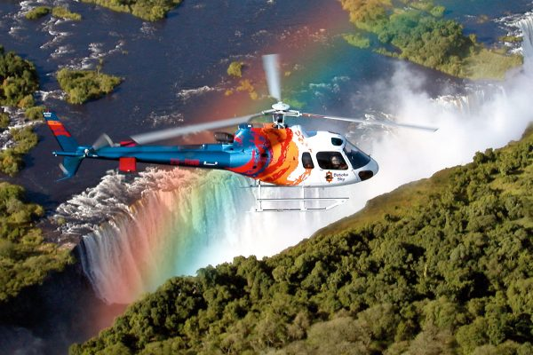 flight of the angels victoria falls helikopter