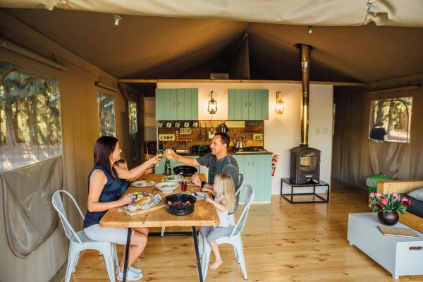 Glamping tent Zuid-Afrika
