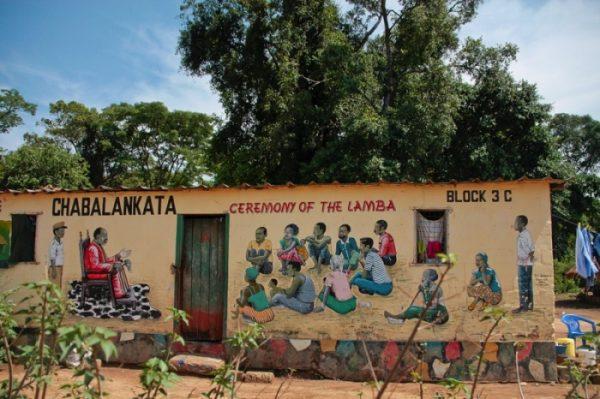 dorpje cultuur cultural village west zambia