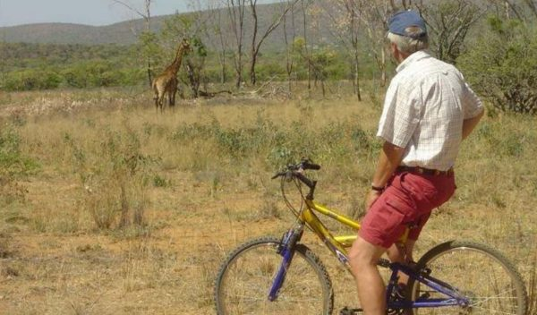 Mountainbike safari