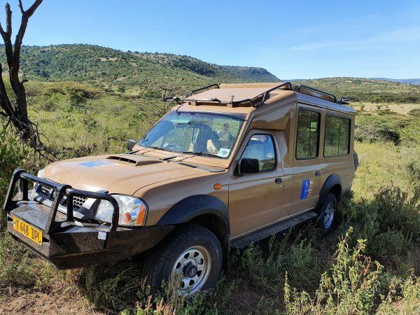 Safari auto Tanzania