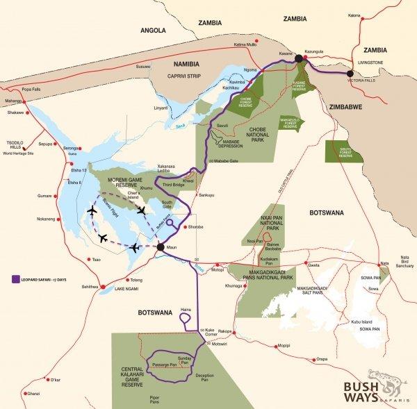 routekaartje BWP