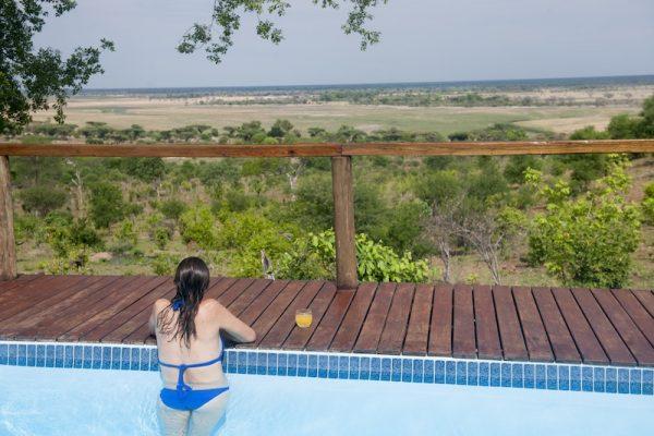 Chobe Elephant Camp zwembad