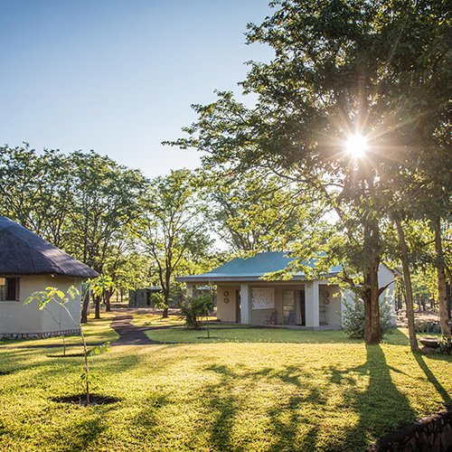 Robins Camp in Hwange Zimbabwe