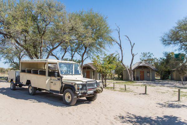 sarafi voertuig Bushways Safari