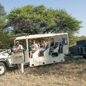 Safari auto kampeersafari Botswana