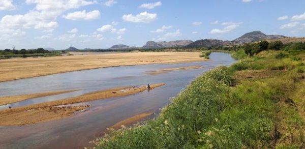 rivier in Tanzania zuid